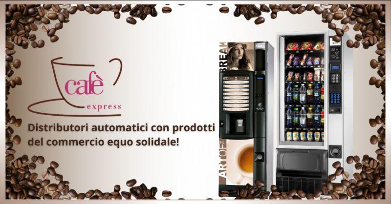 CAFE EXPRESS - offerta commercio equo e solidale distributori automatici ragusa