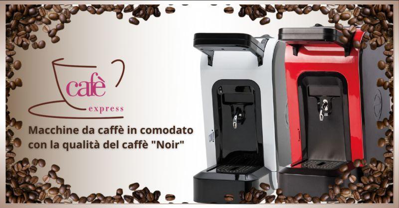 offerta cialde caffe noir Ragusa - occasione comodato d uso macchine da caffe Ragusa