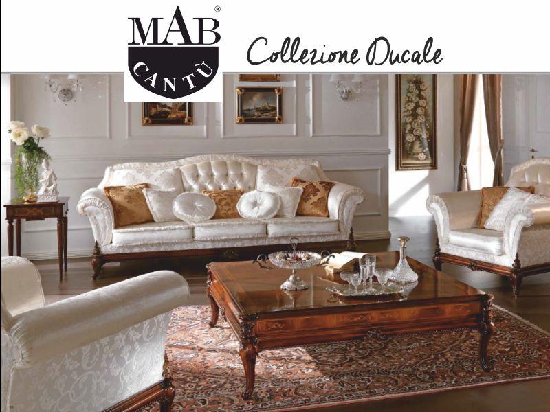offerta salotto collezione ducale mab como - promozione arredamento classico mab como
