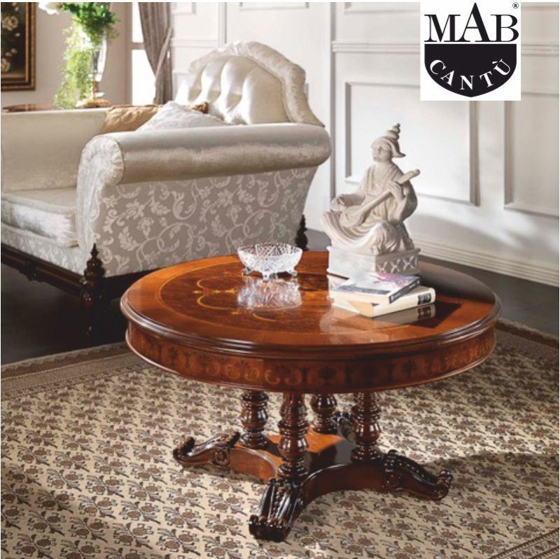 offerta tavolino classico lavorato a mano mab como - promozione arredamento classico mab como