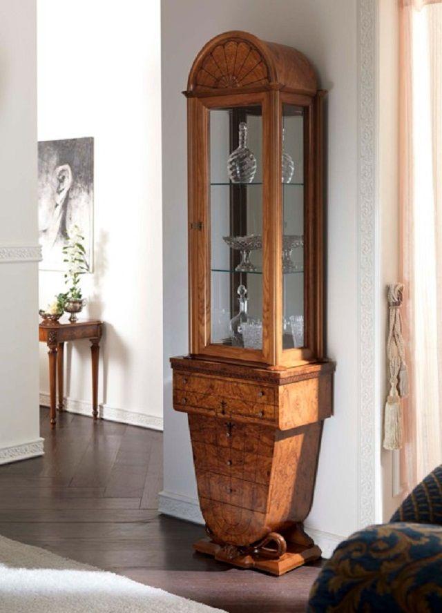 offerta vendita vetrina classica 1 anta - promozione vendita mobili arredo interno cantu