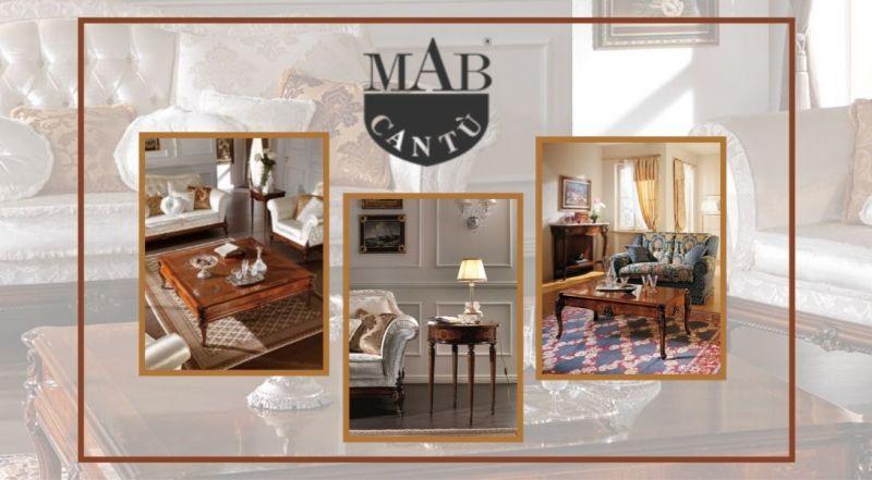 promozione tavoli e tavolini in legno artigianali per soggiorni Como   - MAB CANTU