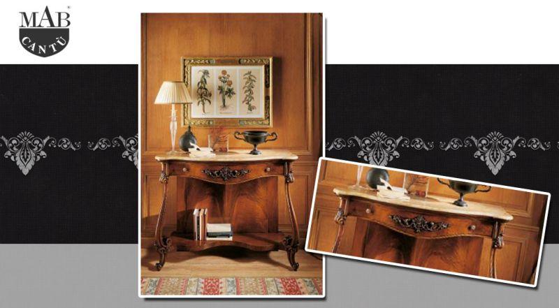MAB Cantù – offerta consolle con top in marmo como – promozione consolle in legno agora como