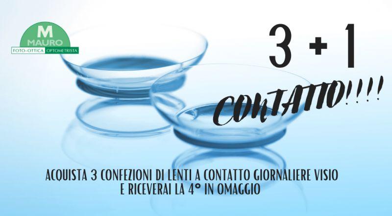 Vendita occasione lenti a contatto giornaliere in offerta a Treviso – Offerta lenti a contatto giornaliere Visio scontate e Treviso