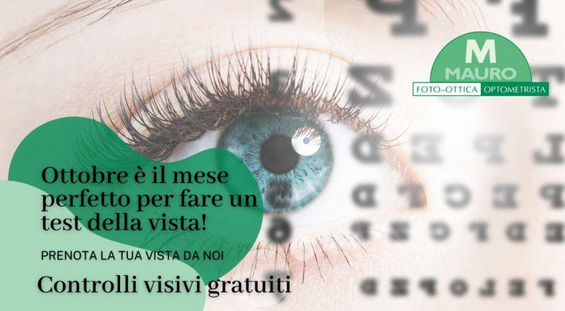 Offerta ottobre mese gratuito della vista a Treviso – Occasione visita oculistica gratuita a Treviso