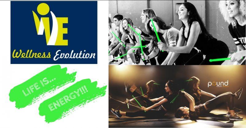 Palestra Wellness evolution - offerta Pound Fit corso - promozione abbonamento palestra