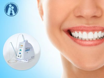 offerta servizio anestesia dentale computerizzata promozione anestesia indolore