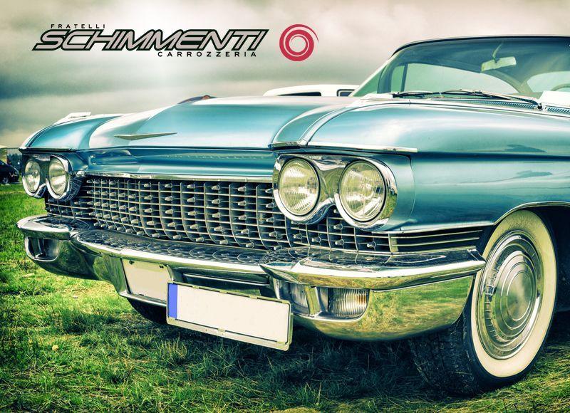 CARROZZERIA SCHIMMENTI offerta restauro veicoli d'epoca - occasione auto restaurate torino
