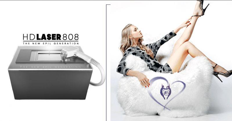 Offerta Servizio epilazione laser definitivo HD 808 Torino -  Every Body Center