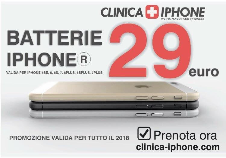 SOSTITUZIONE BATTERIA IPHONE ANCONA