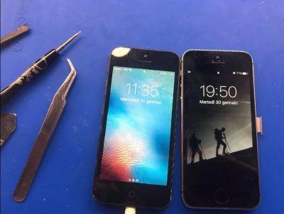 sostituzione vetro iphone fabriano
