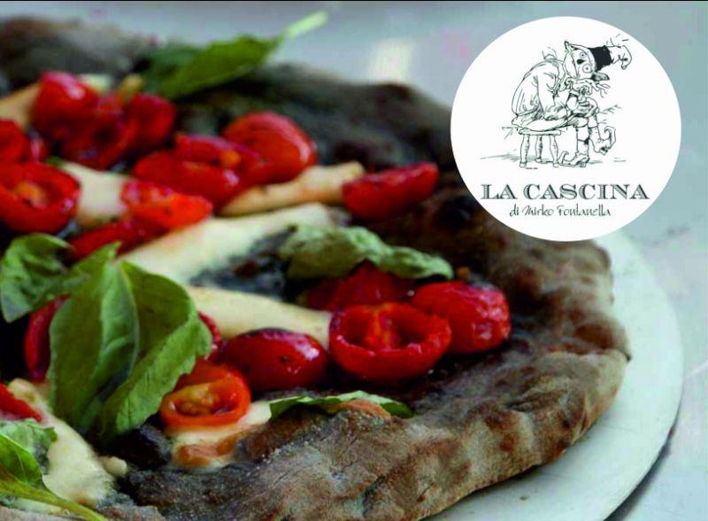 offerta pizza con farina di riso nero la cascina como-promozione impasti speciale pizza como