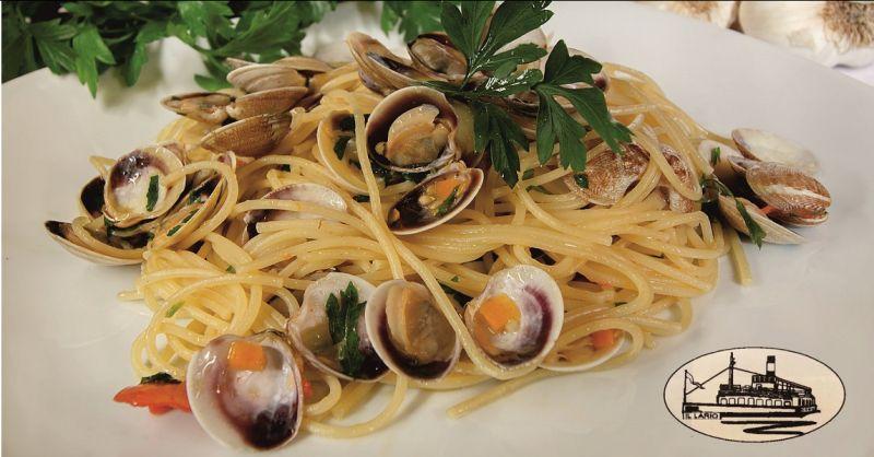 offerta ristorante menu di mare sul lago di Como - ristorante con terrazza sul lago como
