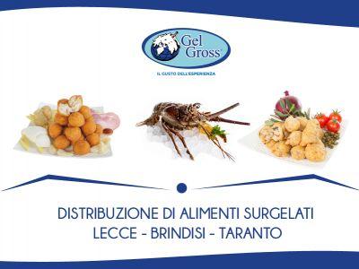 offerta vendita prodotti surgelati taviano promozione servizio fornitura surgelati a taviano