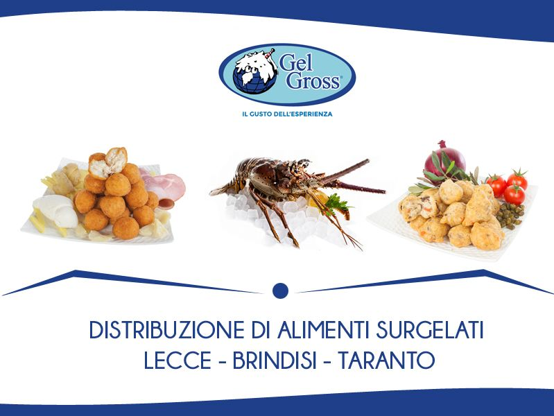 Offerta vendita prodotti surgelati Taviano - Promozione servizio fornitura surgelati a Taviano