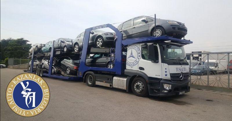 YUSI AUTO offerta servizio trasporto auto in Europa - occasione trasporto internazionale auto