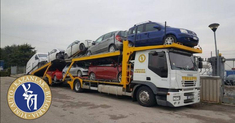 YUSI AUTO offerta trasporto veicoli in Bulgaria - occasione trasporto autovetture in Europa