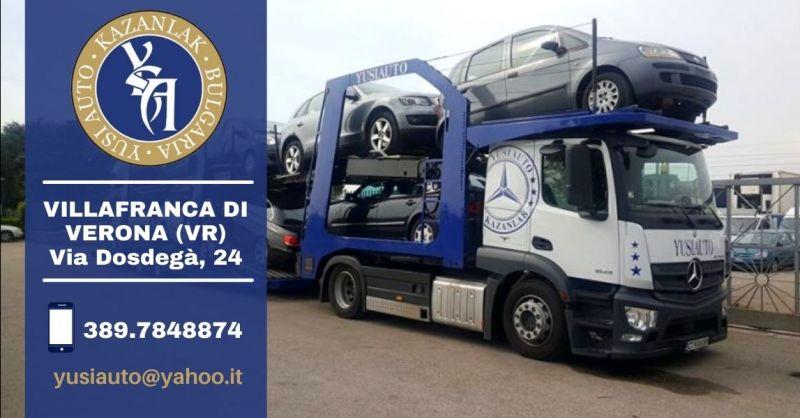 Offerta compravendita auto usate Verona - Occasione servizio trasporto auto in Europa Verona