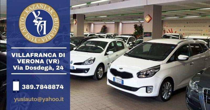 Offerta vendita auto usate di qualità provincia Verona - Occasione acquisto auto usate provincia Verona