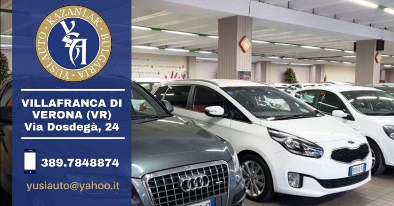 Offerta concessionaria di auto usate provincia Verona - Occasione vendita auto usato garantito Verona