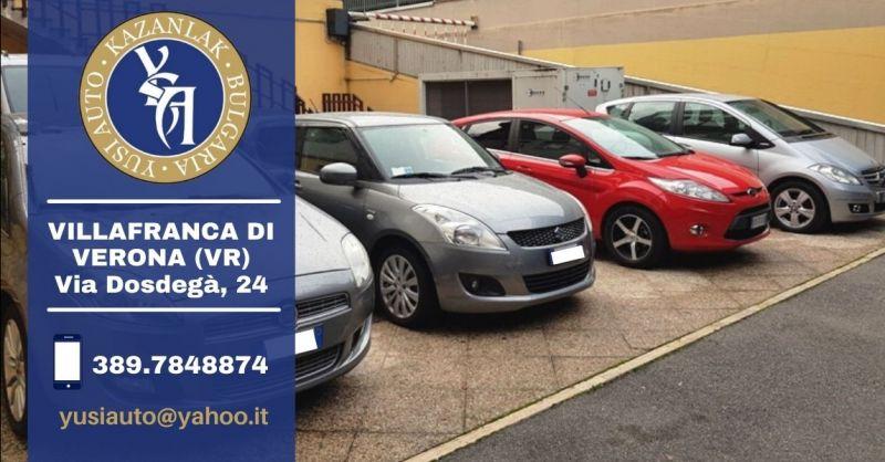 YUSI AUTO - Offerta azienda specializzata nel trasporto auto in Europa Bulgaria Verona