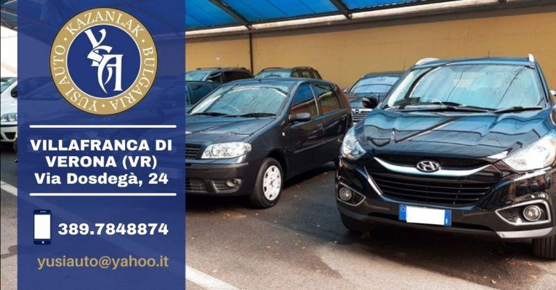 Offerta concessionaria auto usato garantito Verona - Occasione vendita auto usate provincia di Verona