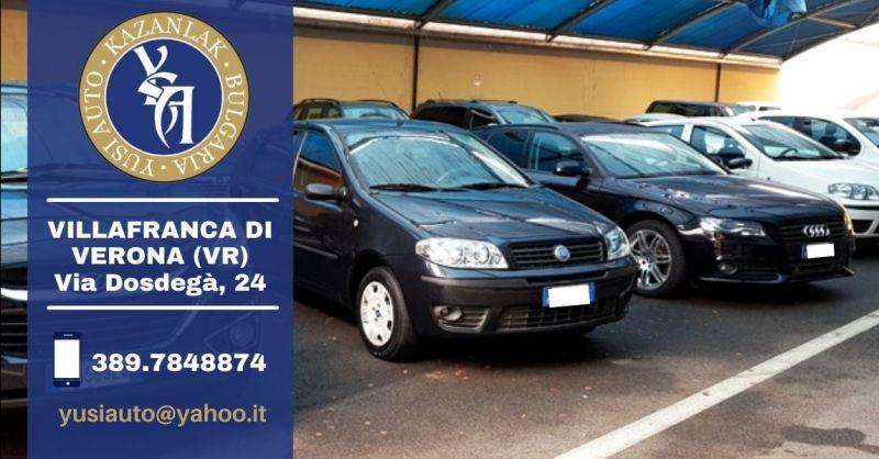 Offerta servizio professionale import auto usate Verona - Occasione importazione auto usate garantite Verona