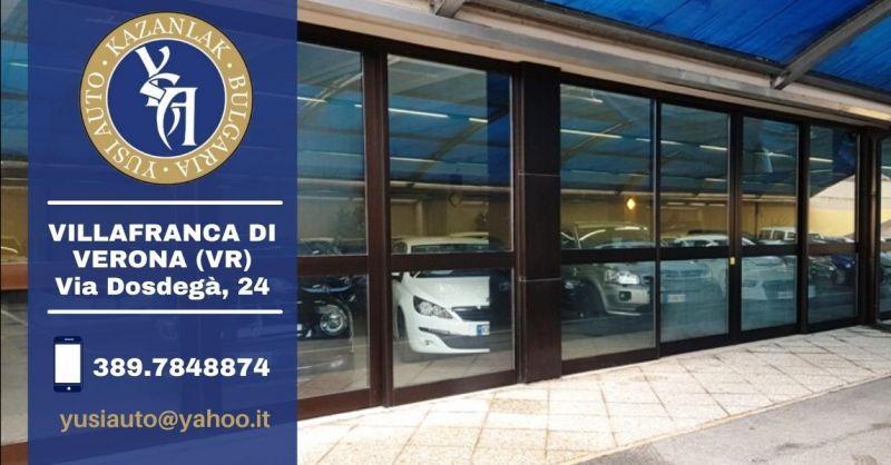 Offerta dove acquistare auto usate garantite provincia Verona - Occasione concessionaria auto usate multimarca
