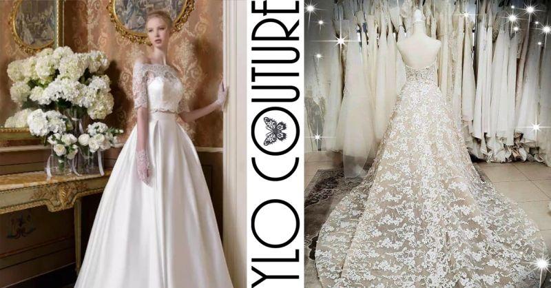 offerta abiti sposa sartoriali su misura jesi - occasione vestito sposa su misura jesi