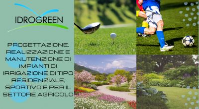 occasione servizio di progettazione realizzazione e manutenzione di impianti di irrigazione di tipo residenziale sportivo e per il settore agricolo a treviso a venezia