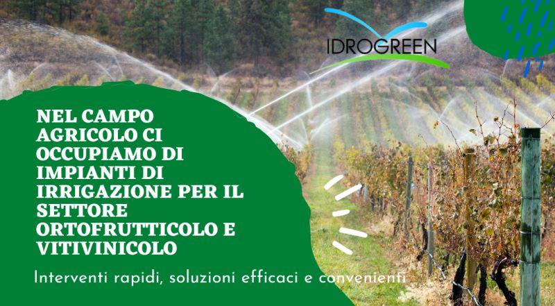 Occasione realizzazione impianti di irrigazione per vigneti a Treviso a Vicenza – offerta progettazione impianti di irrigazione per il settore ortofrutticolo e vitivinicolo a Treviso a Vicenza
