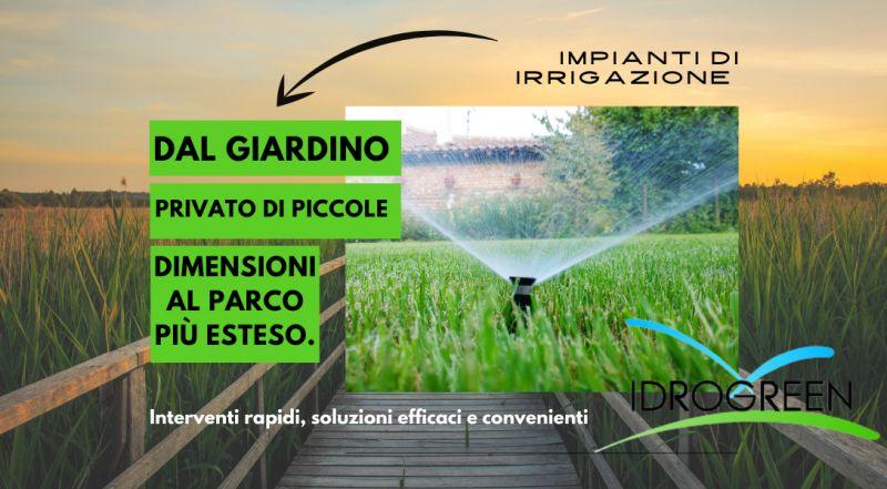 Offerta impianti di irrigazione per giardini privati a Treviso – offerta sistemi di irrigazione per parchi a Treviso