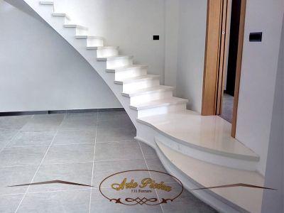 offerta realizzazioni scale su misura surbo promozione scale in marmo tecnico surbo