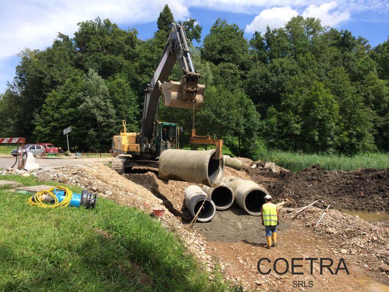 offerta opere di difesa ambientale coetra-promozioene contenimento fluviale idrico coetra