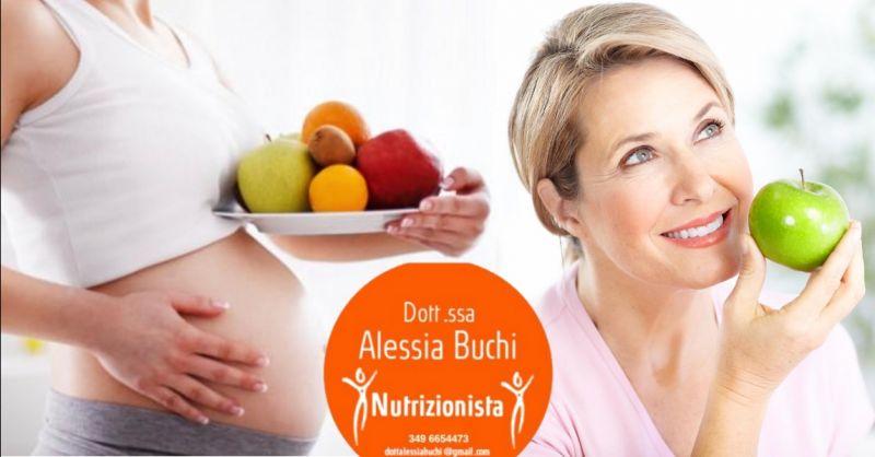 offerta consulenza alimentare donne in gravidanza - occasione nutrizionista menopausa Verona