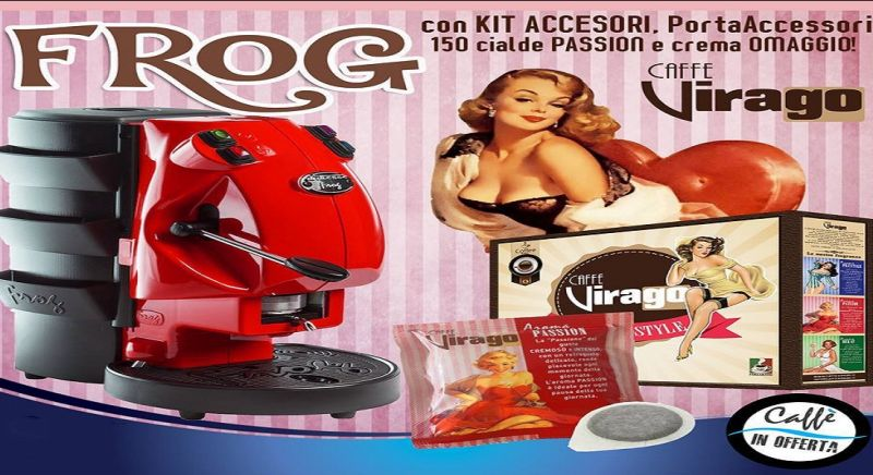 Caffe Virago offerta macchine da caffe - occasione macchina caffe cialde Napoli