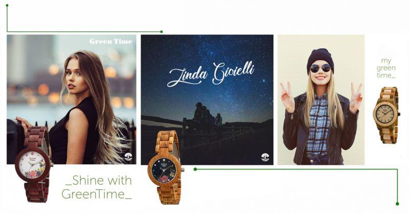 Offerta vendita orologi Green Time ecosostenibile - Promozione realizzazione orologio