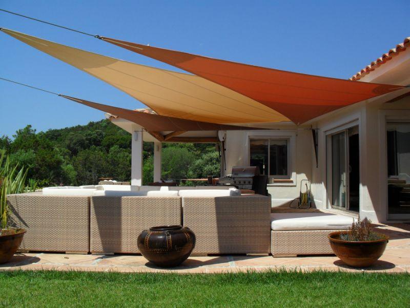 offerta realizzazione coperture tende ombreggianti - occasione tende da sole a vela trieste