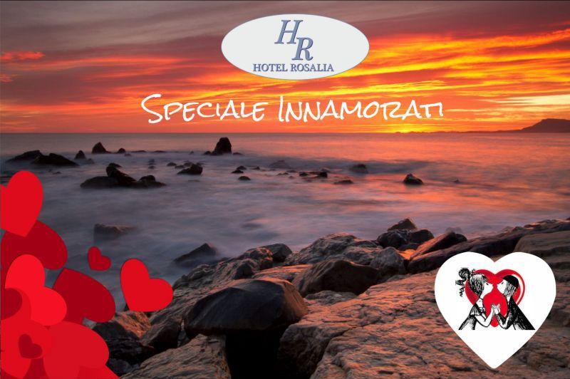 HOTEL ROSALIA - offerta speciale pernottamento san valentino a bordighera