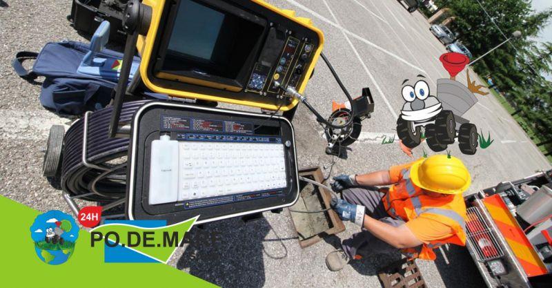offerta videoispezioni reti fognarie - servizio mappatura tubazioni condotti