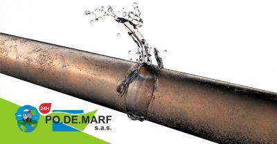 offerta ricerca perdite acqua termocamera servizio indagini non distruttive perdite fognarie