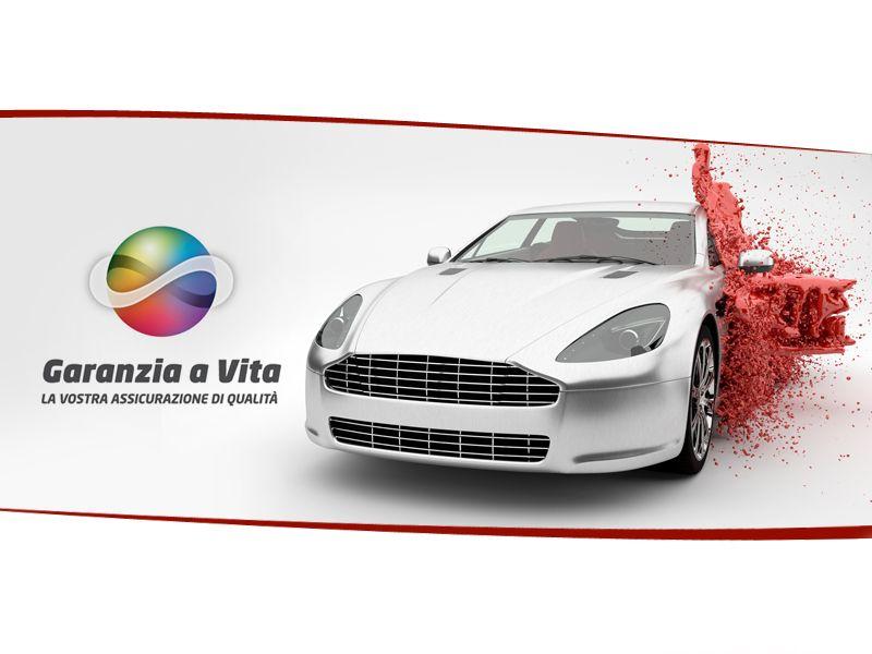 Offerta servizio verniciatura auto Cromax garanzia a vita - Promozione verniciature auto