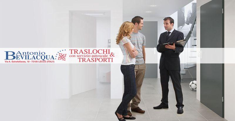 Offerta sopralluoghi gratuiti servizio traslochi - Promozione servizio sopralluogo in loco