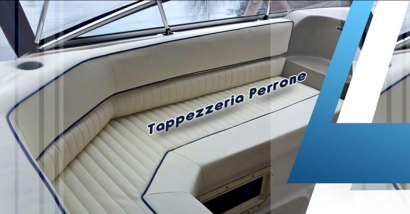 Offerta servizio professionale tappezzerie nautiche per imbarcazioni a Lecce - Perrone