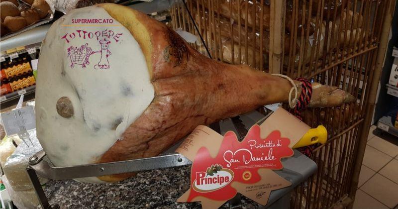 TUTTO PEPE occasione crudo san daniele trieste - offerta prodotti tipici Friuli Venezia Giulia