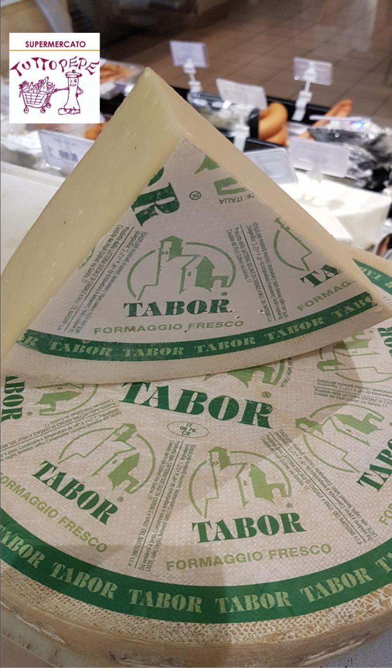 TUTTO PEPE occasione crudo formaggio fresco Tabor - offerta formaggio fresco Montasio Trieste