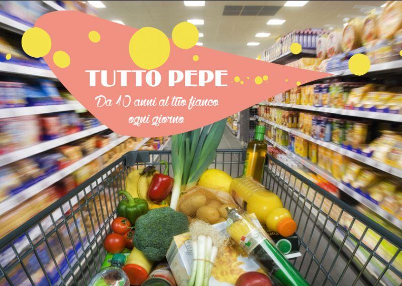 TUTTO PEPE offerta anniversario supermercato – promozione compleanno negozio