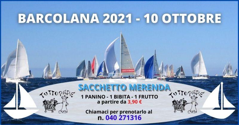 occasione pacchetto merenda Barcolana 2021 Trieste - TUTTO PEPE