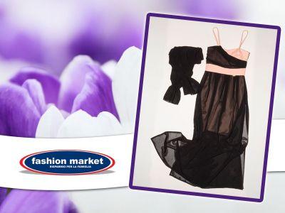 offerta abito lungo donna marca coveri occasione abito elegante da sera donna fashion market