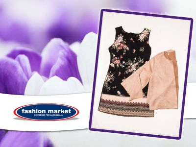 offerta fashion market linea donna abito a fiori occasione collezione abiti donna primavera